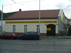 Provozně-technický areál Zenklova 107, P8